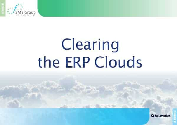 Clearing the ERP Clouds EBook
