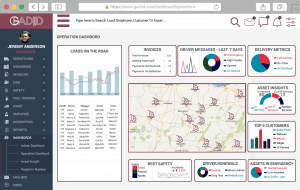 Shipper-3PL Example Dashboard
