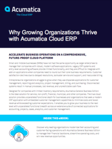 Grow Your Business Faster with Cloud ERP